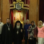 Благословение Патриарха Иерусалимского.
